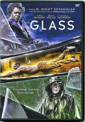 GLASS (DVD, 2019) Fast Shipping New Sealed