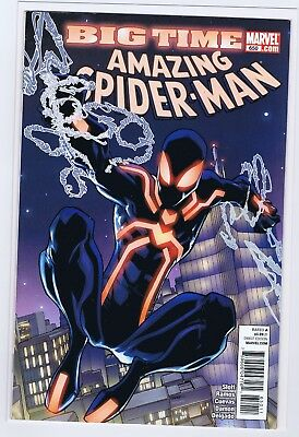 Spider-Man 650 8.0 8.5 High Grade 1St Stealth Suit  St