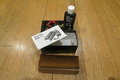Discwasher RECORD CARE SYSTEM D4 LP Cleaner – Bottle Almost Full