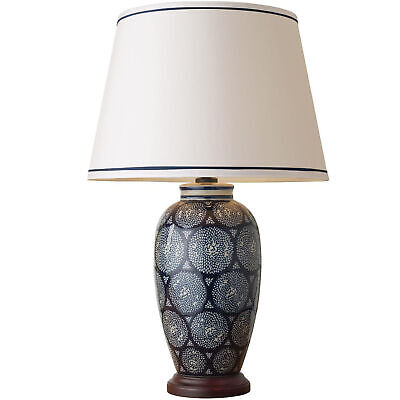 NEW Wide Emmett Porcelain Table Lamp - Mayfield Lamps,Lamps