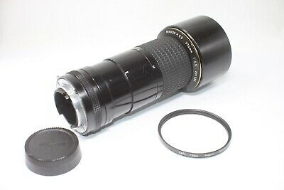 Nikon Nikkor ED 300mm F/4.5 Ai IF MF Lens Made In Japan