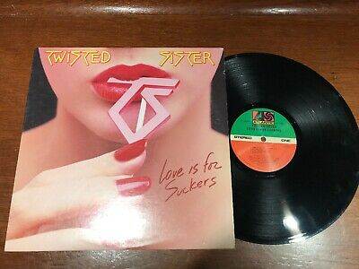Twisted Sister ‎– Love Is For Suckers - VG+ Vinyl LP Record