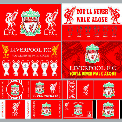 Liverpool Flag Banner 3X5FT England Premier Football Soccer Club 2Grommets Flags