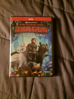 How to Train Your Dragon: The Hidden World DVD 2019 only Brand New wrapped ●■●■●