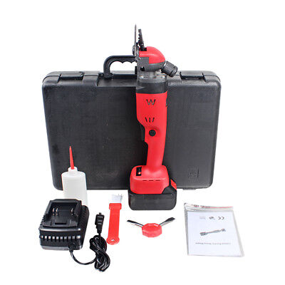 18V 300W Rechargeable Wireless Electric Sheep Shears Goat Clippers +Battery