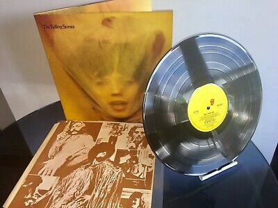 The Rolling Stones - Goats Head Soup 1973 N-Mint First Press Vinyl Lp Lovely !!!