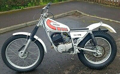 Yamaha TY175 Trials bike, 2 stroke, vintage, classic very good condition