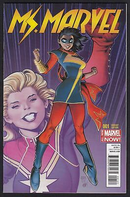 Ms. Marvel #1 (Vol 3) 1:50 Adams Variant 1st App of Kamala Khan as Ms. Marvel