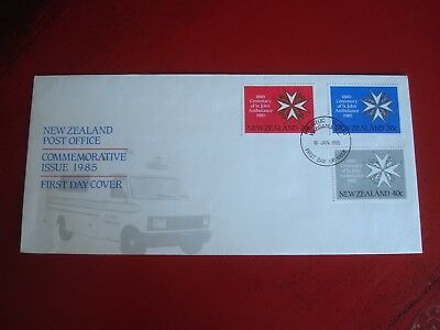 New Zealand - 1985 St. John Ambulance - First Day Cover -  Ex. Condition