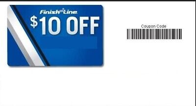 $10 finish line voucher code