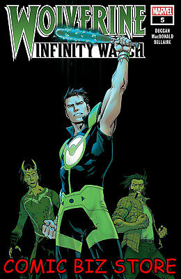 Wolverine Infinity Watch #5 (Of 5) (2019) 1St Printing Camuncoli Cover Marvel