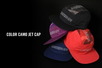 eacdeee1cc37f A Bathing Ape Mens Goods Color Camo Jet Cap 4Color 2019 New Casual From  Japan Sw