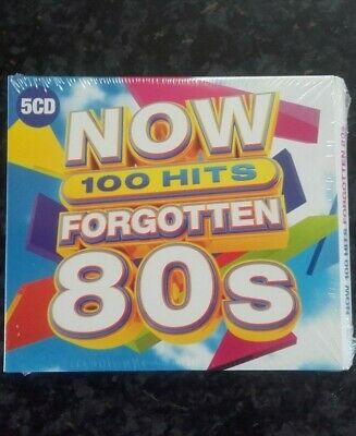 NOW 100 Hits Forgotten 80s. ** BRAND NEW SEALED **