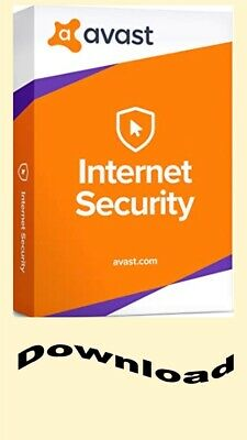 Avast Internet Security 2019 - 5 Computers  +10YRS Digital