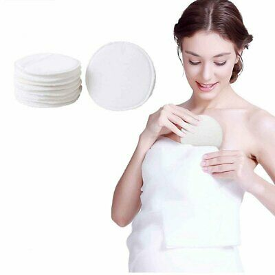 6/12/24x Bamboo Reusable Breast Pads Nursing Breastfeeding Plain Washable Pack G