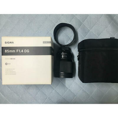 [Near Mint] SIGMA 85mm F1.4 DG HSM Art for Nikon F/S from Japan r0381