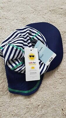 Boys Mothercare UPF+40 sun protection swimming keppie hat Size 6-12 Months