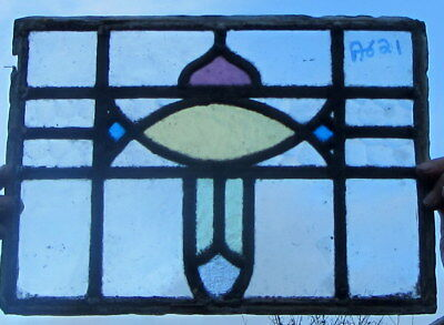 A621    Stained Glass Ca 1930s