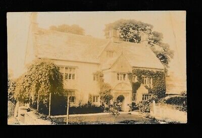 Gloucestershire Glos UPPER SWELL Manor House used 1910 RP PPC small crease