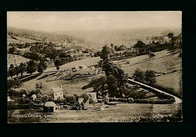 Gloucestershire Glos GOLDEN VALLEY from Rodborough c1920/30s? PPC