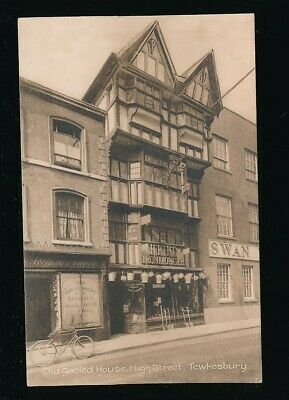 Gloucestershire Glos TEWKESBURY High St Gazette offices c1920/30s? PPC