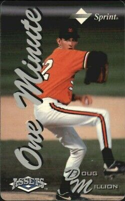 1994-95 Assets Phone Cards One Minute/$2  #37 Doug Million