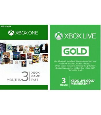 Xbox Live GOLD 3 Months Membership ++ ULTIMATE ++ 3 Months Game Pass ( ONE KEY )