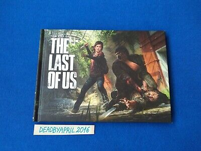 The Last of Us Ellie Edition Artbook Sony Ps3(Brand New)
