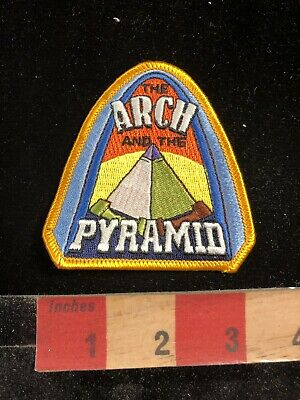 Colorful ARCH AND PYRAMID Patch 96NW