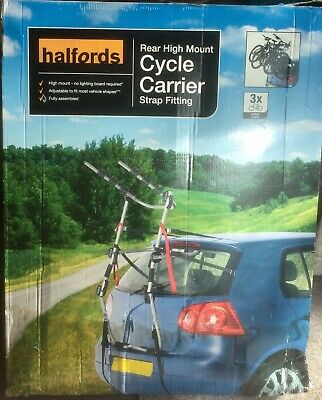 Halfords  Car Cycle Carrier Rack for 3 Bikes