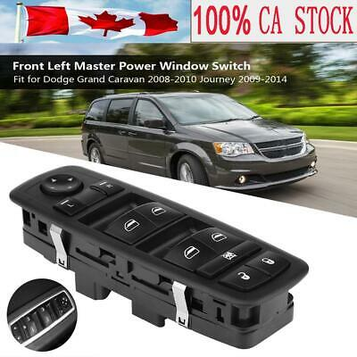 Electric Front Window Master Switch For Dodge Grand Caravan 08-10 Journey 09-14