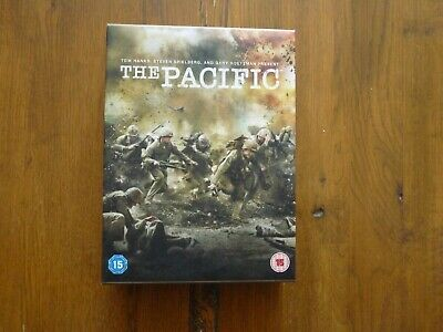 The Pacific (DVD, 2010, 6-Disc Set, Box-Set) 10 Part Mini Series