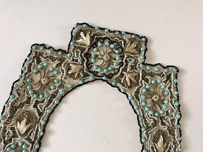 Antique Or Vintage Beaded Pretty Collar