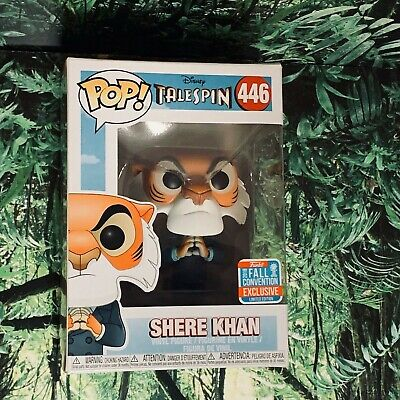 Funko Pop TaleSpin NYCC Exclusive Shere Khan Limited Edition New York Comic Con