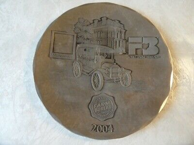 Wendell August Forge Farm Bureau Ohio 2004 Plate Aluminum