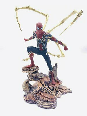 Marvel Gallery IRON SPIDER-MAN FIGURE/STATUE/DIORAMA ~ DST Diamond Select No box