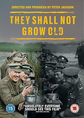 They Shall Not Grow Old DVD New & Sealed