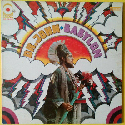 DR. JOHN - Babylon (original 1969 LP on US Atco) EX-/VG+