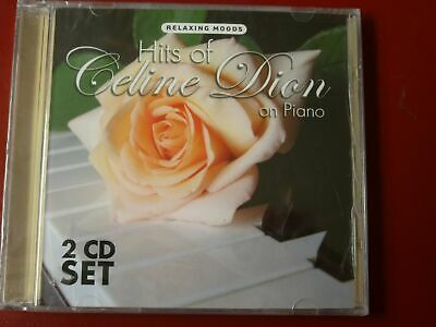 CD Hits of Celine Dion On Piano by Various Artists NEW SEALED
