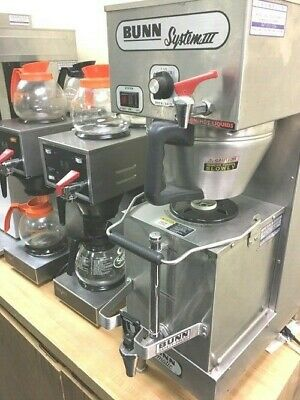 Coffee Tea Brewer BUNN System 3  Automatic 10'' x 24'' x 31'' H