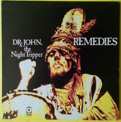 DR. JOHN, THE NIGHT TRIPPER - Remedies (original 1970 LP on US Atco) M-/EX+