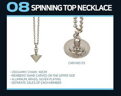 Got7 2019 World Tour Keep Spinning Official Goods Spinning Top Necklace Sealed