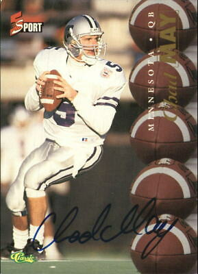 1995 Classic Five Sport Autographs  #89 Chad May
