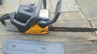 Petrol chainsaw  McCulloch used only a few times small handy for trees logs etc