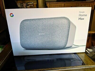 Google Home Max Chalk. Hi-fi smart speaker with Google Assistant.  Free delivery