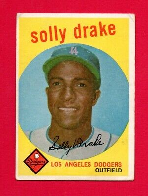 1959 Topps Baseball Solly Drake #406 Vg (Combined Shipping Offered)