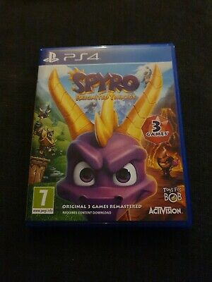 Spyro Reignited Trilogy (PlayStation 4, 2018)