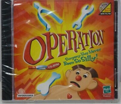 Video Game PC Operation NEW SEALED Jewel