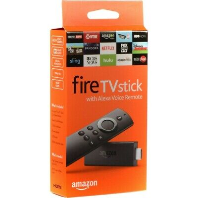 Amazon Fire TV Stick 2nd Gen Streaming Media Player with Alexa Voice Remote