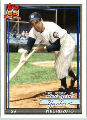 2016 Topps Archives New York Yankees Baseball Card #209 Phil Rizzuto